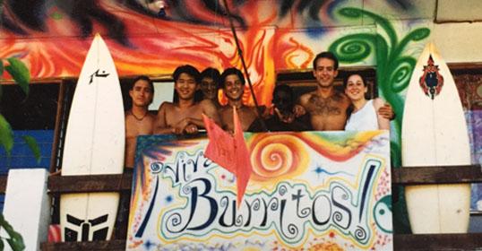 Viva Burritos Sign